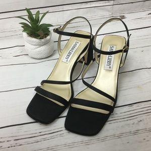 NWOB Sam&Libby Satin Heeled Sandals, Size 8.5